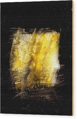 Light Coming Through Wood Print by Kongtrul Jigme Namgyel