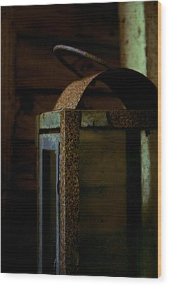 Light Decay Wood Print by Odd Jeppesen