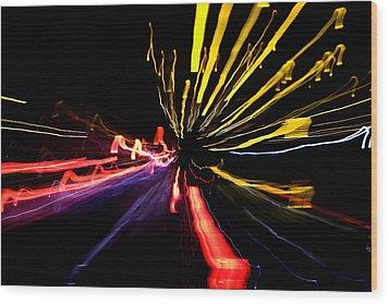 Light Fantastic 03 Wood Print by Natalie Kinnear