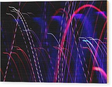 Light Fantastic 05 Wood Print by Natalie Kinnear