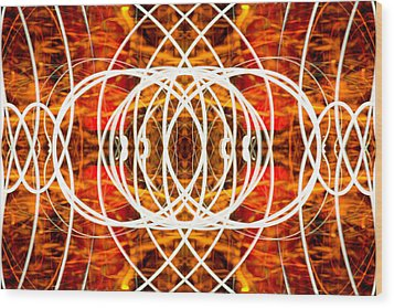 Light Fantastic 29 Wood Print by Natalie Kinnear