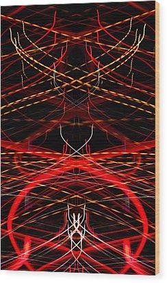 Light Fantastic 33 Wood Print by Natalie Kinnear