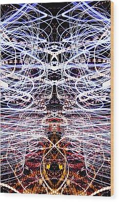 Light Fantastic 38 Wood Print by Natalie Kinnear