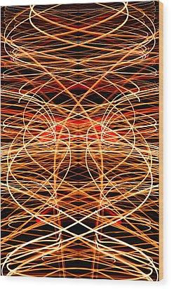 Light Fantastic 40 Wood Print by Natalie Kinnear