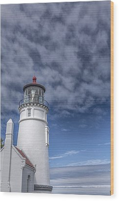Light In The Sky Wood Print by Jon Glaser