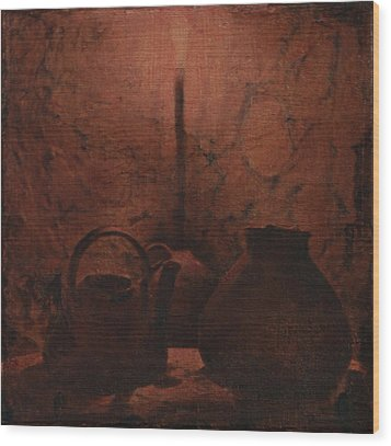 Light My Night Wood Print