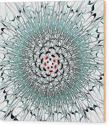 Light Nexus Wood Print by Anastasiya Malakhova