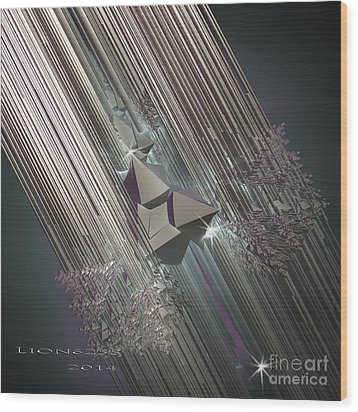 Wood Print featuring the digital art Light Rays by Melissa Messick