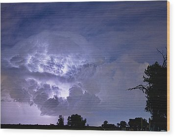 Light Show Wood Print by James BO  Insogna