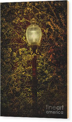 Light Unto Darkness - Greensboro North Carolina Wood Print by Dan Carmichael