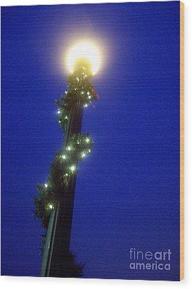 Light Up The Holidays Wood Print