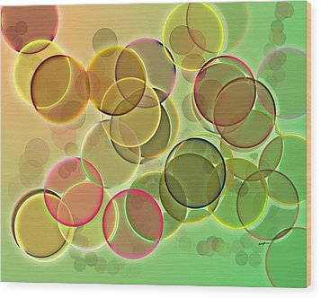Lightbright Wood Print by Anthony Caruso
