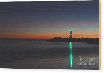 Wood Print featuring the photograph Lighthouse 6 by Theresa Ramos-DuVon