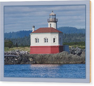 Wood Print featuring the photograph Lighthouse by Adria Trail