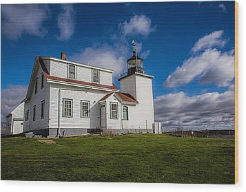 Lighthouse Fever Wood Print by Robert Clifford