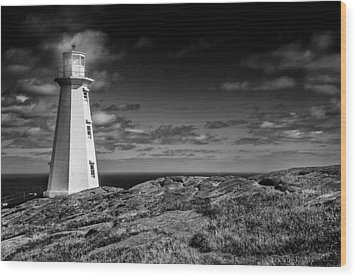 Lighthouse II Wood Print by Patrick Boening