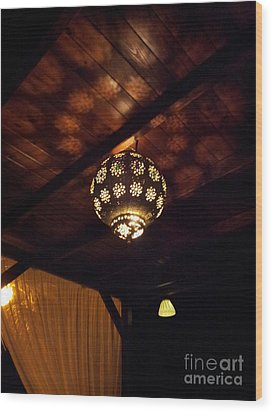 Wood Print featuring the photograph Lights And Shadows by Linda Prewer