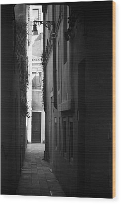 Wood Print featuring the photograph Light's Passage - Venice by Lisa Parrish