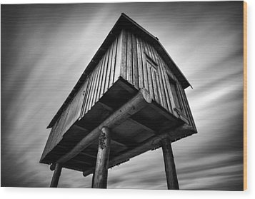Lightshed Wood Print by Alexis Birkill