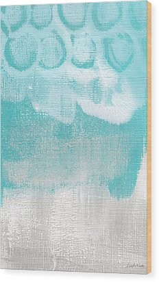 Like A Prayer- Abstract Painting Wood Print by Linda Woods