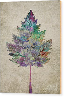 Like A Tree Wood Print by Klara Acel