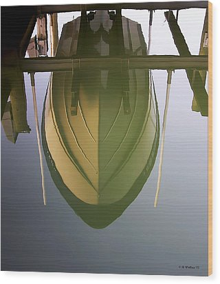 Like Glass Wood Print by Brian Wallace