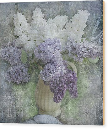 Lilac Wood Print by Jeff Burgess