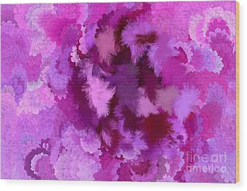 Lilac Of The Valley Wood Print by Holley Jacobs