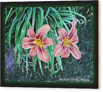 Lilly Wood Print