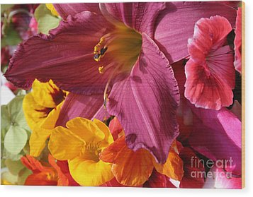 Wood Print featuring the photograph Lily by Jeanette French
