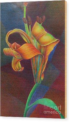 Lily's Rainbow Wood Print