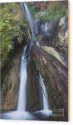Limekiln Waterfall Wood Print by Jenna Szerlag