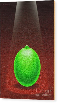 Limelight Wood Print by Cristophers Dream Artistry