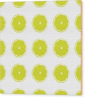 Limes Wood Print by Jocelyn Friis