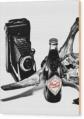 Limited Edition Coke - No.008 Wood Print by Joe Finney