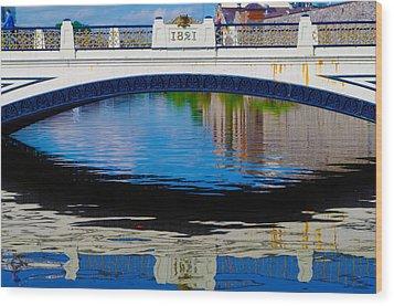 Sean Heuston Dublin Bridge Wood Print