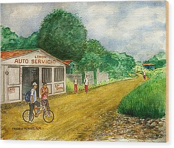 Limon Costa Rica Wood Print