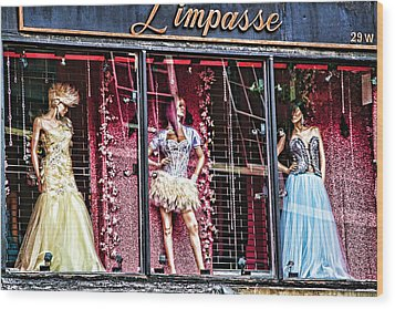 Limpasse Wood Print