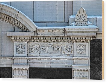 Lincoln County Courthouse Door Arch Wood Print