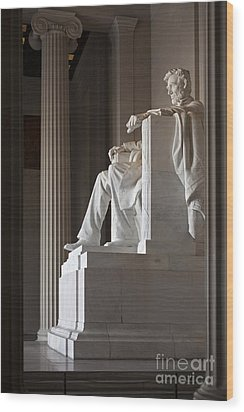 Lincoln Memorial Wood Print by Jim West