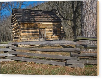 Lincoln's Boyhood Home Wood Print