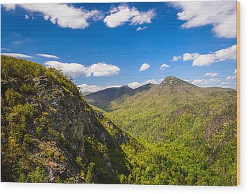 Linville Gorge Hike Wood Print