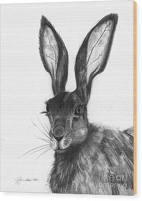 Listening Ears Wood Print