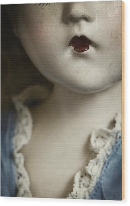 Wood Print featuring the photograph Little Lady  by Amy Weiss