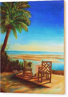 Little Palm Island - Little Torch Key Wood Print