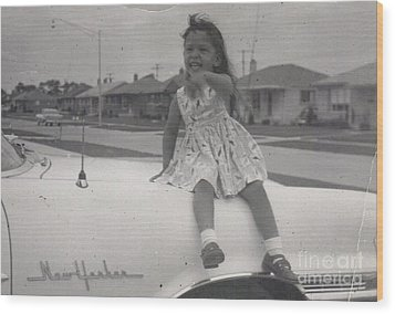 Wood Print featuring the photograph Little Puppi by Alga Washington