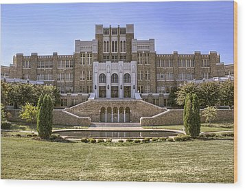 Little Rock Central High School Wood Print