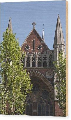 Wood Print featuring the photograph Little Venice Church by Maj Seda