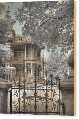 Littlefield Home Wood Print by Jane Linders