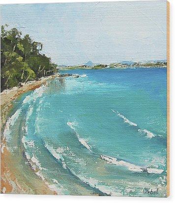 Litttle Cove Beach Noosa Heads Queensland Australia Wood Print